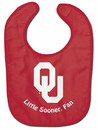 Oklahoma Sooners Baby Bib - All Pro Little Fan