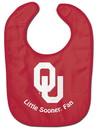 Oklahoma Sooners Baby Bib - All Pro Little Fan