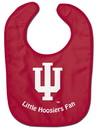 Indiana Hoosiers Baby Bib - All Pro Little Fan