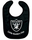 Oakland Raiders All Pro Little Fan Baby Bib