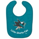 San Jose Sharks Baby Bib All Pro Style Special Order