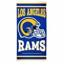 Los Angeles Rams Towel 30x60 Beach Style
