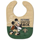 New Orleans Saints Baby Bib All Pro Future Quarterback Special Order