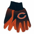 Chicago Bears Two Tone Adult Size Gloves
