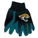 Jacksonville Jaguars Two Tone Adult Size Gloves