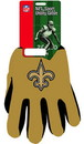 New Orleans Saints Two Tone Adult Size Gloves