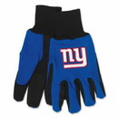 New York Giants Two Tone Adult Size Gloves