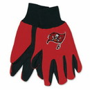 Tampa Bay Buccaneers Two Tone Adult Size Gloves