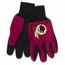 Washington Redskins Two Tone Adult Size Gloves