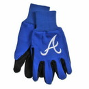 Atlanta Braves Two Tone Gloves - Adult Size - Special Order