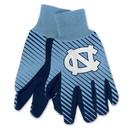 North Carolina Tar Heels Two Tone Gloves  - Adult
