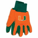 Miami Hurricanes Two Tone Gloves - Adult - Special Order