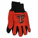 Texas Tech Red Raiders Two Tone Gloves - Adult Size Special Order