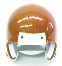 Mini Football Helmet Shell - Burnt Orange