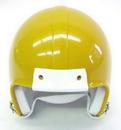 Mini Football Helmet Shell - Sunflower Gold Metal Flake