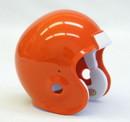 Micro Football Helmet Shell - Orange