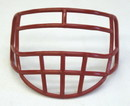 Micro Football Helmet Mask - Red