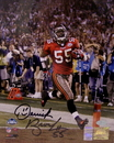 Creative Sports Derrick Brooks Autographed Hand Signed Tampa Bay Buccaneers 16x20 Photograph - PSA/DNA