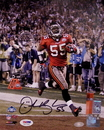 Creative Sports Derrick Brooks Autographed Hand Signed Tampa Bay Buccaneers 8x10 Photograph