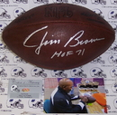 Creative Sports Jim Brown Autographed Hand Signed Official NFL Football - PSA/DNA