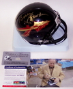 Creative Sports Bobby Bowden Autographed Hand Signed Florida State Seminoles Black Mini Helmet - PSA/DNA