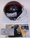 Creative Sports Lawrence Taylor Autographed Hand Signed Giants Mini Helmet - PSA/DNA