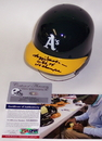 Creative Sports Reggie Jackson Hand Signed Oakland A's Mini Helmet - PSA/DNA