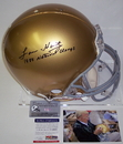 Creative Sports Lou Holtz Autographed Hand Signed Notre Dame Fighting Irish Authentic Proline Helmet - PSA/DNA