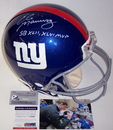 Creative Sports Eli Manning Autographed Hand Signed New York Giants Authentic Helmet - PSA/DNA