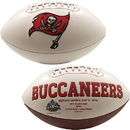 Creative Sports Tampa Bay Bucs Logo Full Size Signature Series Football