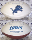 Creative Sports Detroit Lions Logo Full Size Signature Series Football