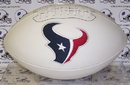 Creative Sports Houston Texans Logo Full Size Signature Series Football