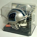 Creative Sports Economy Mini Helmet Display Case - w/Mirror Back