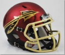 Creative Sports Florida State Seminoles Garnet Riddell Speed Mini Football Helmet