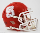 Creative Sports North Carolina State Wolfpack Riddell Speed Mini Football Helmet