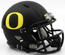 Creative Sports Oregon Ducks Matte Black Riddell Speed Mini Football Helmet