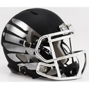 Creative Sports Oregon Ducks Riddell Titanium Black and Chrome Speed Mini Football Helmet