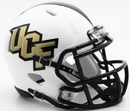 Creative Sports Central Florida Knights UCF White Matte Riddell Speed Mini Football Helmet