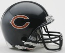Creative Sports Chicago Bears VSR4 Riddell Mini Football Helmet