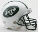 Creative Sports New York Jets VSR4 Riddell Mini Football Helmet