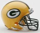 Creative Sports Green Bay Packers VSR4 Riddell Mini Football Helmet