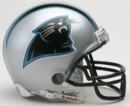 Creative Sports Carolina Panthers VSR4 Riddell Mini Football Helmet