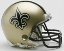 Creative Sports New Orleans Saints VSR4 Riddell Mini Football Helmet