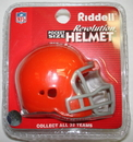 Creative Sports Cleveland Browns Riddell Revolution Pocket Pro Football Helmet