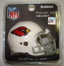 Creative Sports Arizona Cardinals Riddell Revolution Pocket Pro Football Helmet