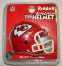 Creative Sports Kansas City Chiefs Riddell Revolution Pocket Pro Football Helmet
