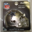 Creative Sports Dallas Cowboys Riddell Revolution Pocket Pro Football Helmet