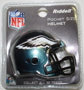 Creative Sports Philadelphia Eagles Riddell Revolution Pocket Pro Football Helmet