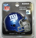 Creative Sports New York Giants Riddell Revolution Pocket Pro Football Helmet