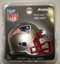 Creative Sports New England Patriots Riddell Revolution Pocket Pro Football Helmet